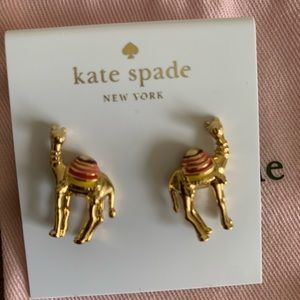 Kate Spade Camel Earrings